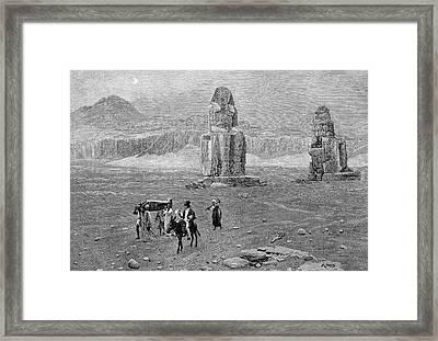 Jean-francois Champollion Framed Print