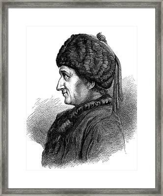Jean-jacques Rousseau Framed Print by Bildagentur-online/tschanz