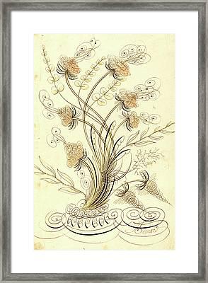 Jean-joseph Bernard Called Bernard De Paris Framed Print