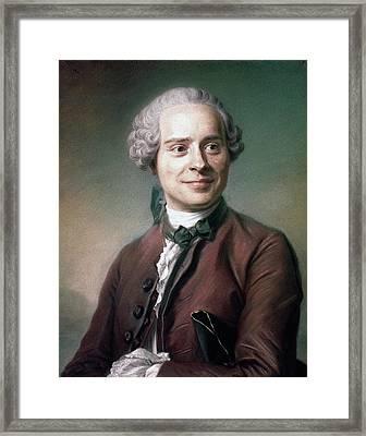 Jean Le Rond D'alembert (1717-1783) Framed Print by Granger