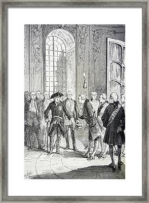 Jean Le Rond D'alembert Framed Print by Universal History Archive/uig