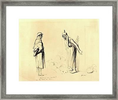 Jean-louis Forain, -quest-ce Vous Voulez  -les Louis De 1871 Framed Print