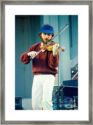 Jean Luc Ponty At The Greek Theater In Berkeley Ca 1980 Framed Print