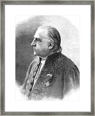 Jean-martin Charcot Framed Print by Collection Abecasis