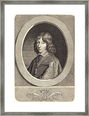 Jean Morin After Justus Van Verus French Framed Print by Quint Lox