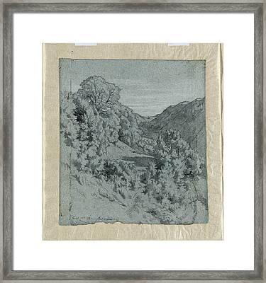 Jean-paul Flandrin French, 1811 - 1902 Framed Print