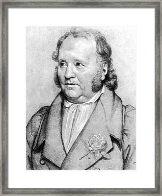 Jean Paul Friedrich Richter (1763-1825) Framed Print