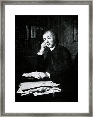 Jean Senebier Framed Print by National Library Of Medicine