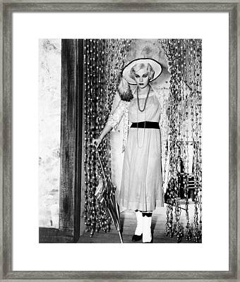 Jeanne Eagels, Kim Novak, 1957 Framed Print by Everett