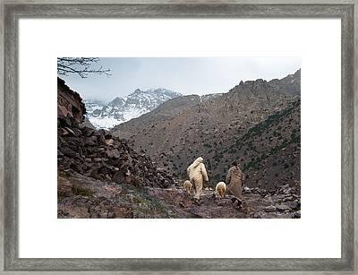 Jebel Toubkal Framed Print by Daniel Kocian