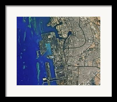 Jeddah Framed Prints