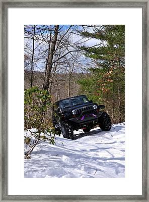 Jeep 3 Framed Print by J Scott Davidson