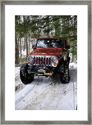 Jeep 4 Framed Print