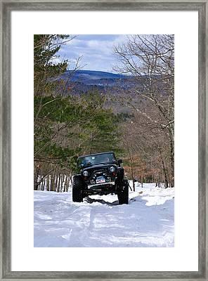Jeep 9 Framed Print