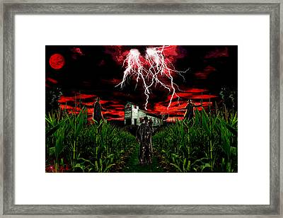 Jeepers Creepers Framed Print by Michael Rucker