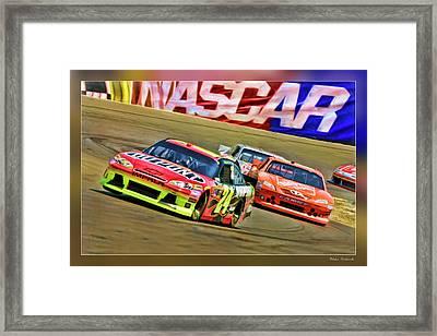 Jeff Gordon-nascar Race Framed Print