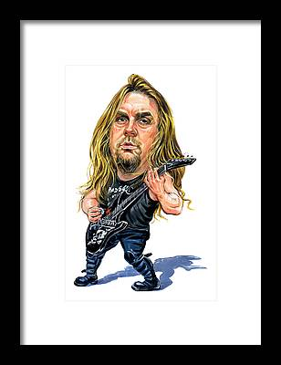 Jeff Hanneman Framed Prints