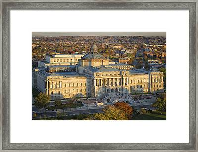 Jefferson Building Framed Print