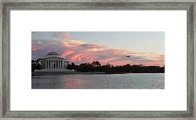 Jefferson Landscape0201 Framed Print by Carolyn Stagger Cokley