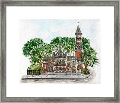 Jefferson Market Library Framed Print