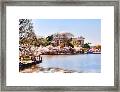 Jefferson Memorial Washington Dc Framed Print