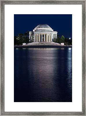 Jefferson Memorial Washington D C Framed Print by Steve Gadomski
