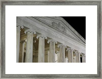 Jefferson Memorial - Washington Dc - 01131 Framed Print by DC Photographer