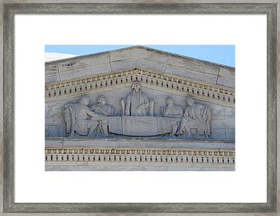 Jefferson Memorial - Washington Dc - 01133 Framed Print