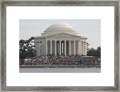 Jefferson Memorial - Washington Dc - 01134 Framed Print by DC Photographer