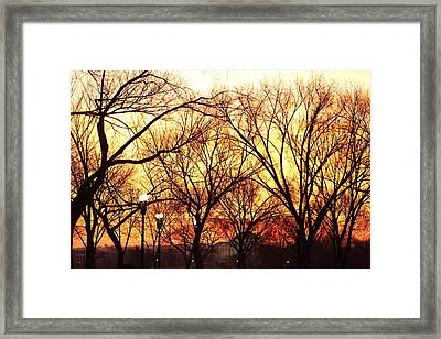 Jefferson Memorial - Washington Dc - 01135 Framed Print