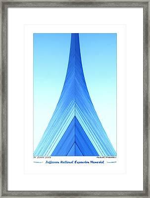 Jefferson National Expansion Memorial II Framed Print