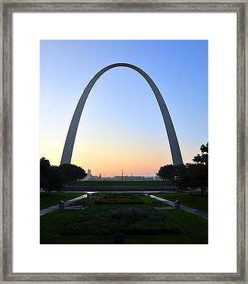 Jefferson National Expansion Memorial Framed Print