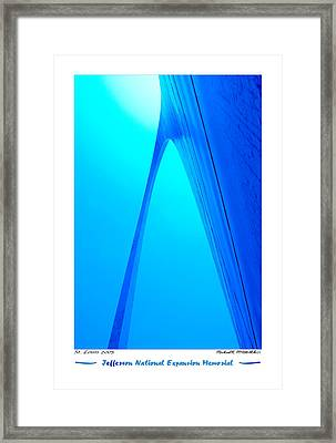 Jefferson National Expansion Memorial Framed Print by Mike McGlothlen