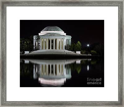 Jefferson Reflections Framed Print by Dale Nelson