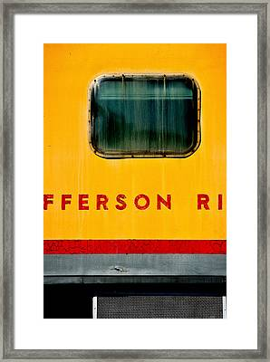 Framed Print featuring the photograph Jefferson River by Bud Simpson