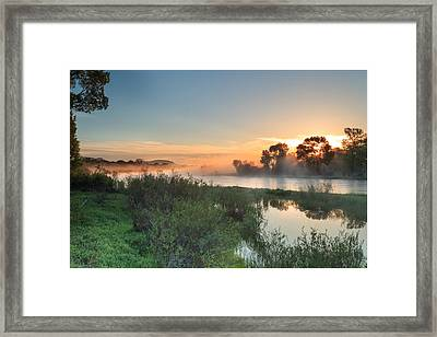 Jefferson River In Montanas Greater Framed Print