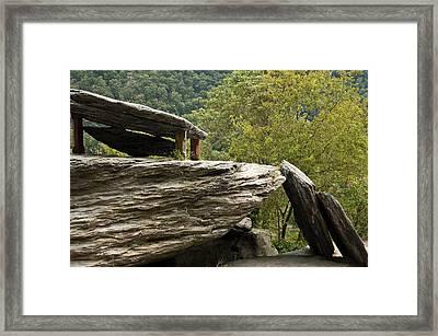 Jefferson Rock - Harpers Ferry Framed Print