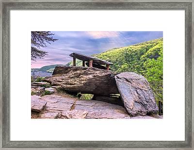 Jefferson Rock Framed Print