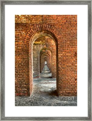 Jefferson's Arches Framed Print by Marco Crupi