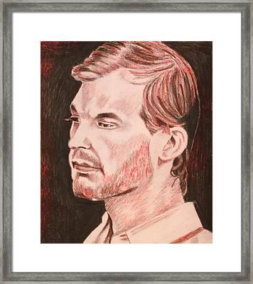 Jeffrey Framed Print by Jeremy Moore
