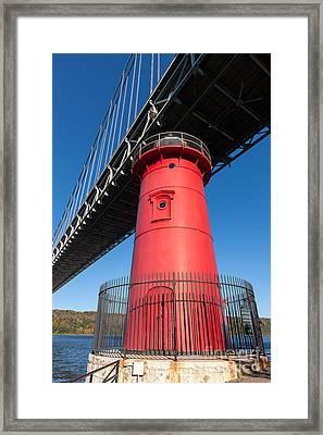 Jeffrey's Hook Lighthouse I Framed Print