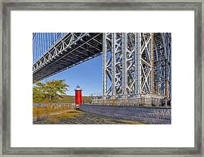 Jeffrey's Hook Lighthouse IIi Framed Print