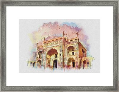 Jehangir Form Framed Print by Catf