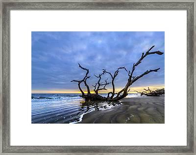 Jekyll Island Seascape Framed Print
