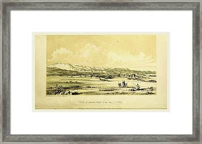 Jelalabad, Narrative Of Various Journeys In Balochistan Framed Print by Litz Collection