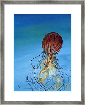 Jelly Framed Print by Anthony Cavins