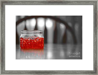 Jelly Balls Framed Print by Bobby Mandal