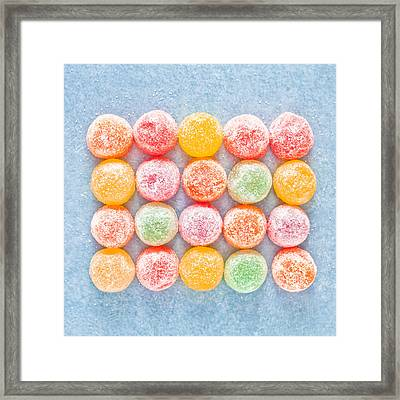 Jelly Sweets Framed Print