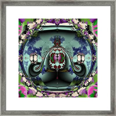 Jellyfish Bowl Framed Print by Jim Pavelle