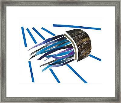 Jellyfish Framed Print by Earl ContehMorgan